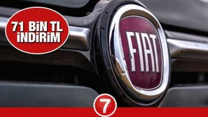 Fiat'tan 71 bin TL indirim kampanyası! 2021 ve 2020 Fiat Egea Fiorino 500 Doblo fiyat listesi