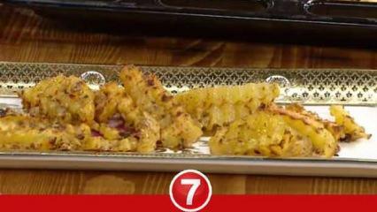 Fırında yoğurtlu patates kızartması nasıl yapılır? Baharatlı soslu patates nasıl yapılır?