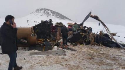 Bitlis'teki helikopter kazasında şehit olan askerlerimizin kimlikleri belli oldu