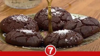 Kakaolu ıslak kurabiye nasıl yapılır? Kakaolu ıslak browni kurabiye malzemeleri...