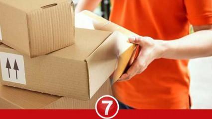 Kargodan gelen paketlerden corona virüs bulaşır mı? Market alışverişinde virüs bulaşır mı?