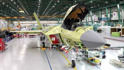 Güney Kore'nin yerli savaş uçağının ilk motorları takıldı
