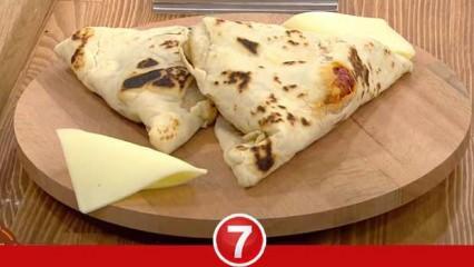 Lavaşta tavuk dürüm nasıl yapılır? Nermin Gül'ün tarifiyle sebzeli ve baharatlı tavuk dürüm...