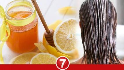 Limonun saça faydaları nelerdir? Limon saçı uzatır mı? Saç dökülmesi limon kullanılır mı?