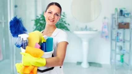 Mart ayında temizlik nasıl yapılır? En kolay temizlik yapma önerileri