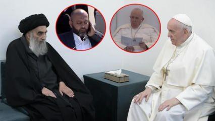 Sistani ile görüşen Papa, Hz. İbrahim'in doğduğu kentte Kuran-ı Kerim dinledi
