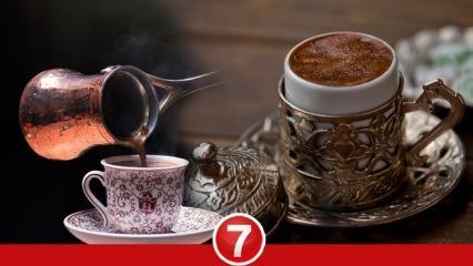 Türk kahvesinin faydaları nelerdir? Sade Türk kahvesi zayıflatır mı?