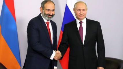 Putin'le görüşen Paşinyan, 'İskender füzeleri' açıklamasından geri adım attı