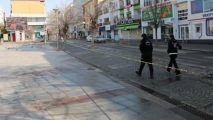 Tam kapanma ilk kez Aksaray'da uygulanıyor: Bakkal ve manavlar da kapalı