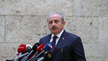 TBMM Başkanı Şentop'tan Samsun'da bir kadının darbedilmesine tepki