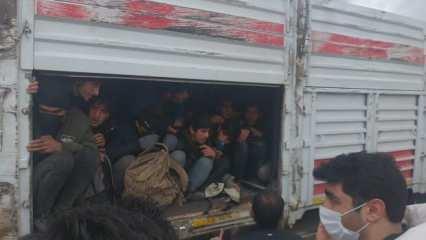 Van'daki feci trafik kazası sonrası tırda balık istifi 114 kaçak göçmen olduğu ortaya çıktı!