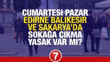 Yarın Edirne, Balıkesir ve Sakarya'da yasak var mı? Çok Yüksek Riskli illerde kafeler açık mı?