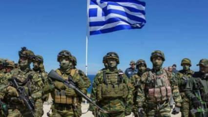 Yunanistan'da askerlik süresine Türkiye ayarı