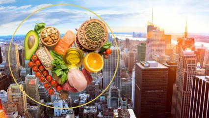 Zayıflamanın sırrı 'New York diyetinde! Kilo verdiren New York diyet listesi