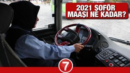 2021 Belediye otobüsü şoför maaşları ne kadar? Devlette derecelere göre şoför maaşları tablosu