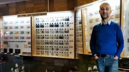 7 yaşındayken başladığı koleksiyonda 39 yılda 100 kilo madeni para ve 15 bin banknot topladı!