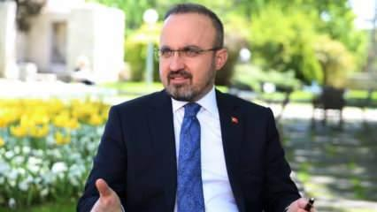 AK Parti'li Bülent Turan'dan CHP'ye katılan Cihangir İslam'a tepki!