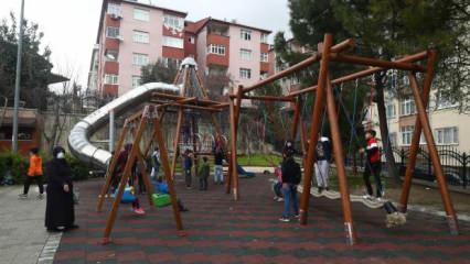 Bağcılar Belediyesi ilçedeki en yoğun 8 parkı yeniledi!