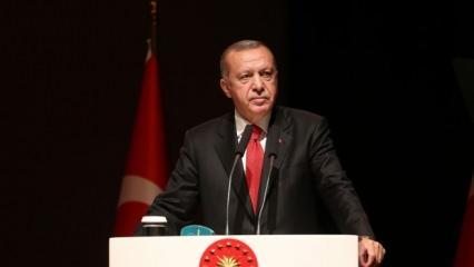 Başkan Erdoğan'dan Rasim Öztekin mesajı