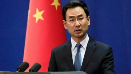 Çin: ABD'nin güvenilmez bir ülke olduğu yine kanıtlandı