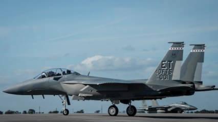 ABD'nin efsane savaş uçağı F-15'in 'EX' versiyonu üssüne konuşlandı