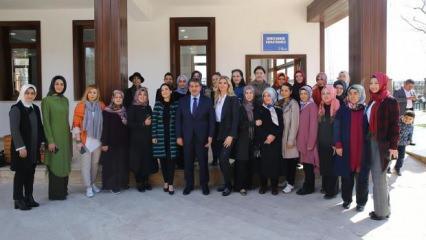 Esenler'de ev hanımları kooperatif ile dünyaya açılıyor!