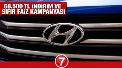Hyundai  68.500 TL indirim kampanyası devam ediyor! 2021 Hyundai Tucson Kona i20 i10 fiyatları