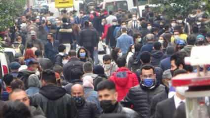 İstiklal'de olağanüstü kalabalık! Girişler kapatıldı