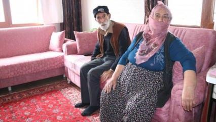 Elazığ depreminde evi hasar gören yaşlı çift: '117 yaşındayım böyle hükümet görmedim!'