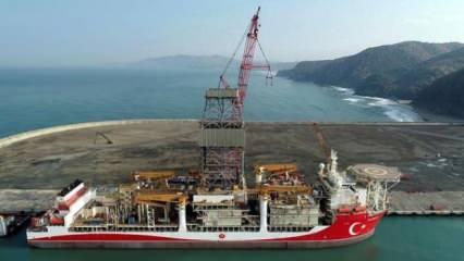 Karadeniz'de kritik çalışma başladı! Zemine bakılıyor...