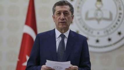 Uzaktan eğitim için Milli Eğitim Bakanı Selçuk'tan son dakika açıklaması geldi