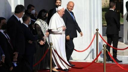 Irak Diyanet İşleri Başkanı, Papa'nın görüşme teklifini reddetti! Cumhurbaşkanı bile aradı...