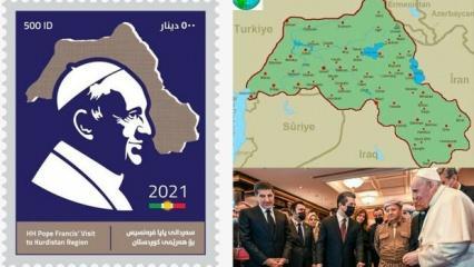 Papa'nın Irak turu sözde Kürdistan rezilliğiyle bitti