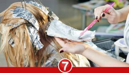 Rüyada saç boyatmak ne demek? Rüyada kendi saçını boyamak neye işaret eder?