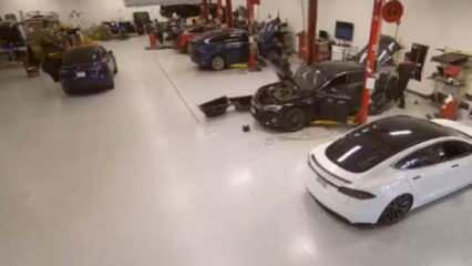 Tesla'nın güvenlik kamerası hacklendi