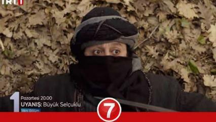 Uyanış Büyük Selçuklu 25.bölüm 2.fragmanı Maskesi düşüyor! Görüp görebileceği en okkalı ceza...
