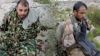 Afrin'e sızmaya çalışan 2 YPG'li terörist yakalandı