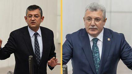 AK Partili Akbaşoğlu'ndan CHP'li Özel'e: Aynaya bak diktatörü de bozuntusunu da görürsün!