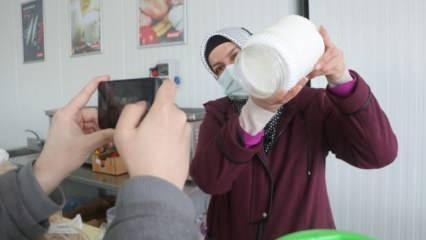 Gıda mühendisliği mezunu ev kadını pandemide iş kadını oldu!