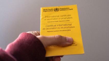 Avrupa Birliği'nden aşı pasaportu açıklaması