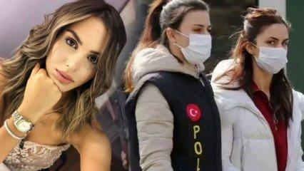 Oyuncu Ayşegül Çınar'ın arkadaşı Furkan Çalıkoğlu'na yaklaşma yasağı