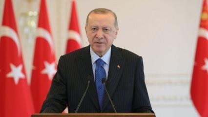 Başkan Erdoğan'dan Biden'a çağrı