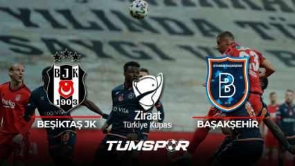 Beşiktaş Başakşehir maçı geniş özeti ve golleri!   ZTK'da ilk finalist Kara Kartal!