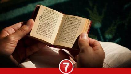 Cuma Suresi okumanın faziletleri nelerdir? Cuma Suresi Arapça okunuşu ve Türkçe meali...
