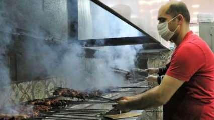 Diyarbakırlılar pandemiye rağmen günde 4 ton ciğer tüketiyor!
