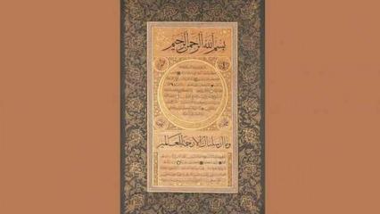 Hakanî'nin muhabbet sofrası: Hilye-i Hakanî