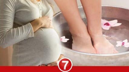 Hamilelikte ayak şişliği neden olur? Gebelikte ayak şişmesi nasıl geçer?