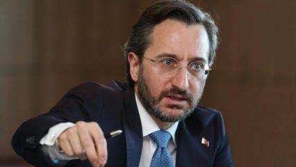 İletişim Başkanı Altun'dan HDP açıklaması