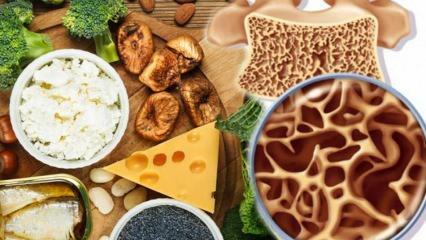 Kemikler nasıl güçlendirilir? Kemik erimesini önleyen besinler nelerdir?