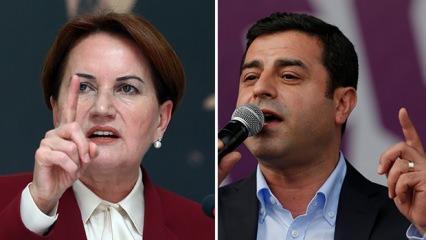 Kürsüde Andımız'ı okuyan İYİ Parti, Demirtaş'a ne diyecek?